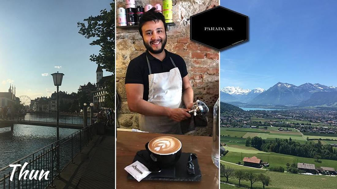 Il Miglior Caffè a Thun? E' la Messicana servito al Parada 30