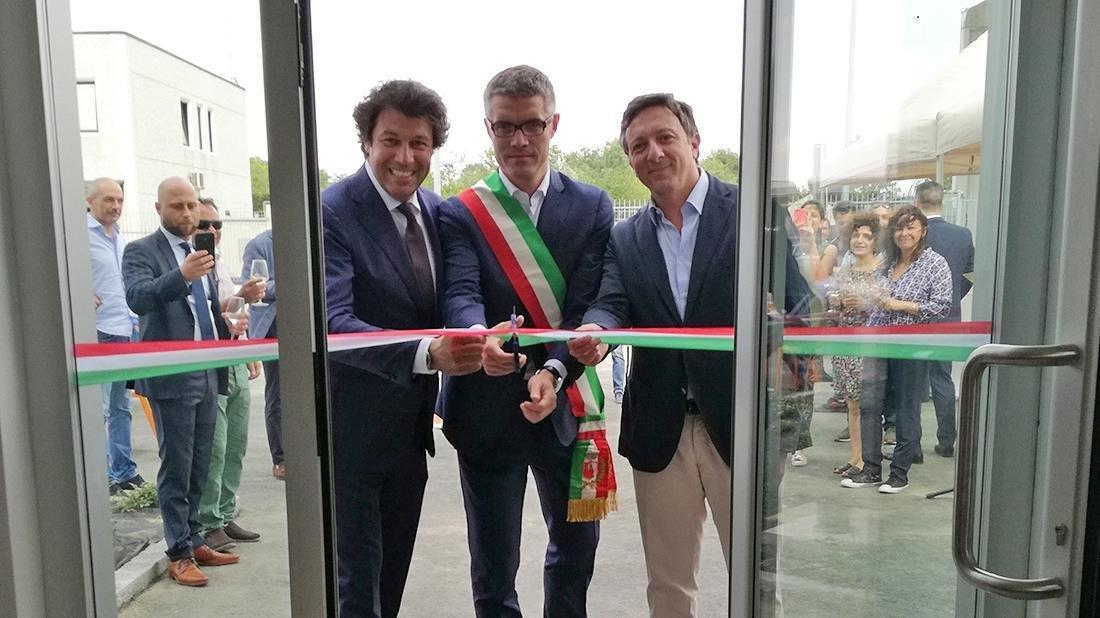Inauguration in Rottofreno