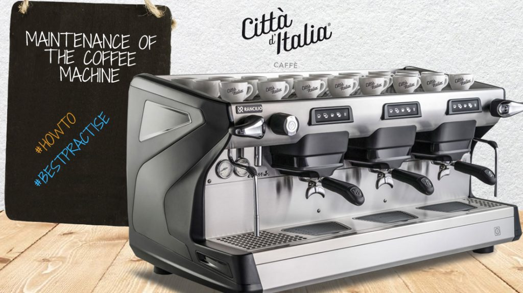 How to clean and maintain the professional coffee machine