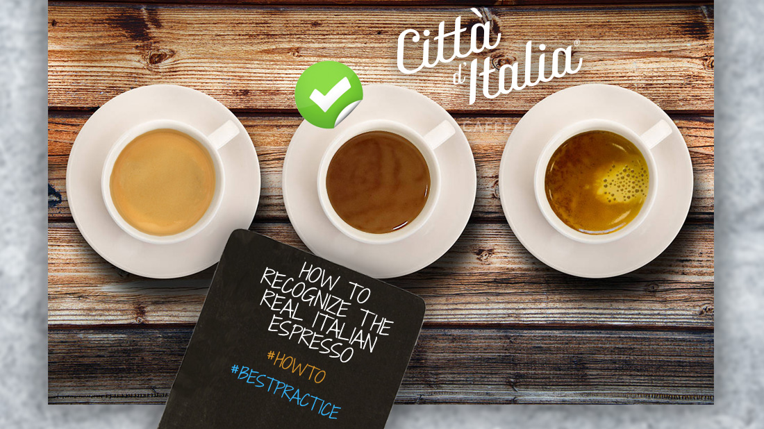 How To Recognize the Real Italian Espresso | La Messicana