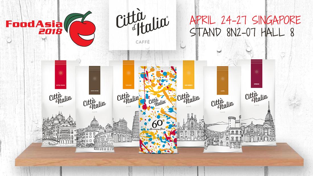 Città d'Italia protagonista al Food Asia 2018